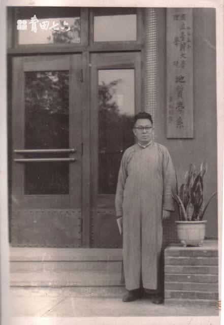青田七六-馬廷英教授