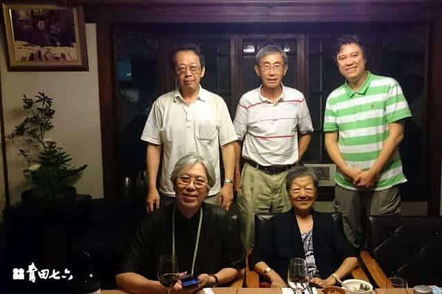 青田七六-雪峰石研究團隊與老師合照