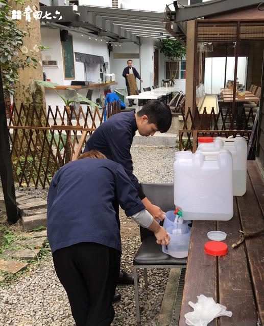 青田七六-褐根病菌蔓醫治過程1