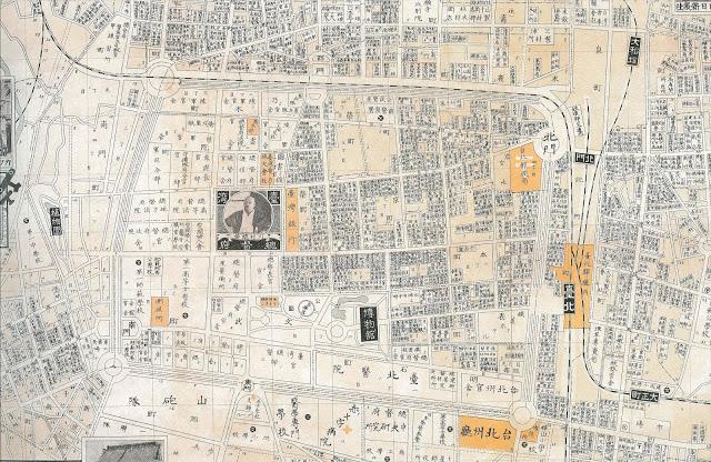 青田七六-街區慢步-1928台北職業別地圖-1