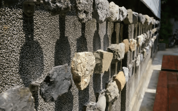 青田七六-台湾の岩石標本