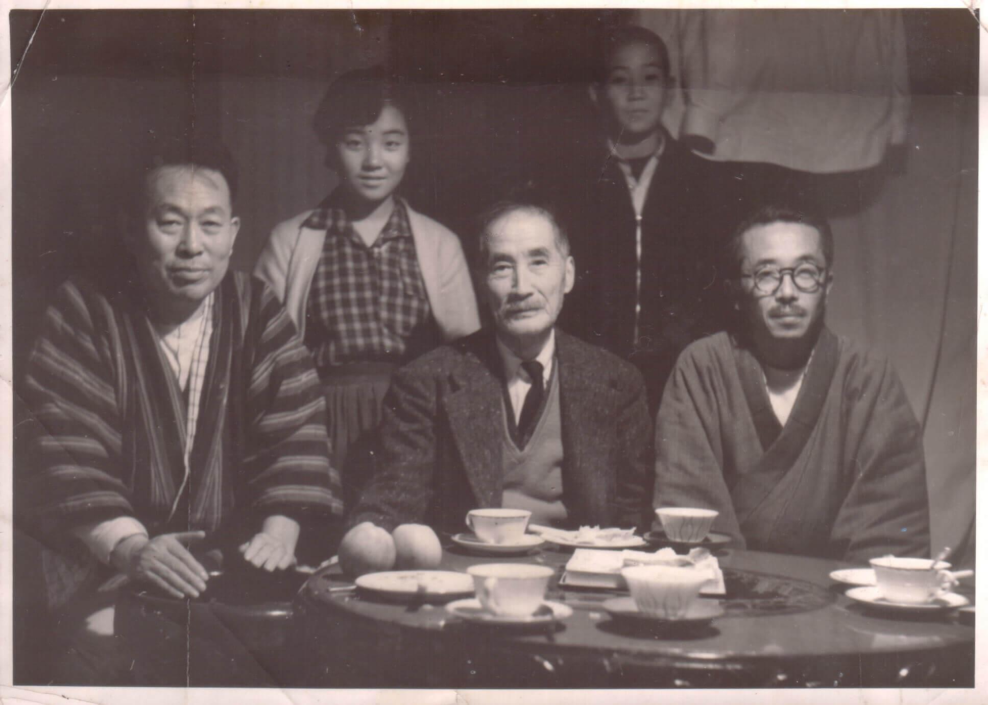 青田七六-馬廷英教授與日本矢部長克博士
