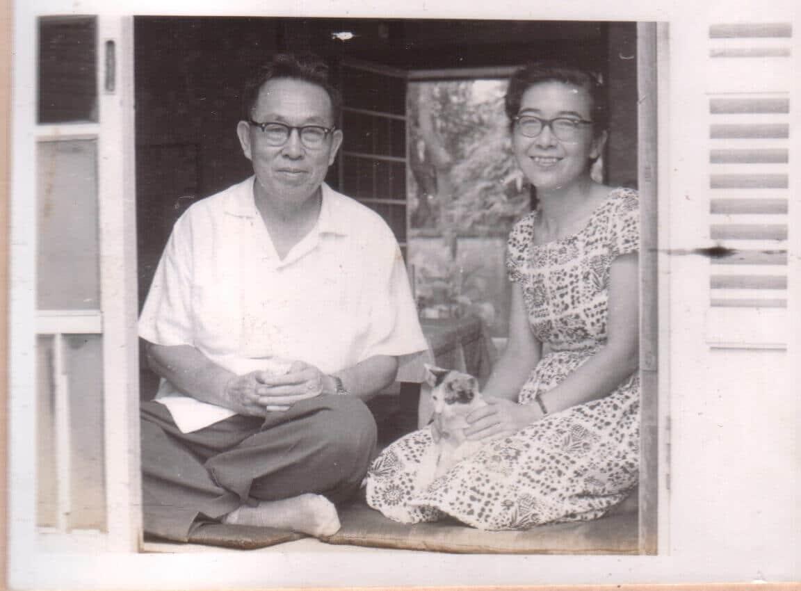 青田七六-馬廷英教授與小野千鶴子夫人