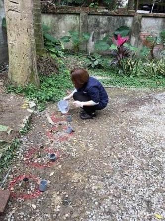 青田七六-維修紀錄-20170124(開始於埋管中用藥及清水)