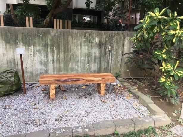 青田七六-維修紀錄-201810(楓香除菌及烘乾以利樹體再利用)