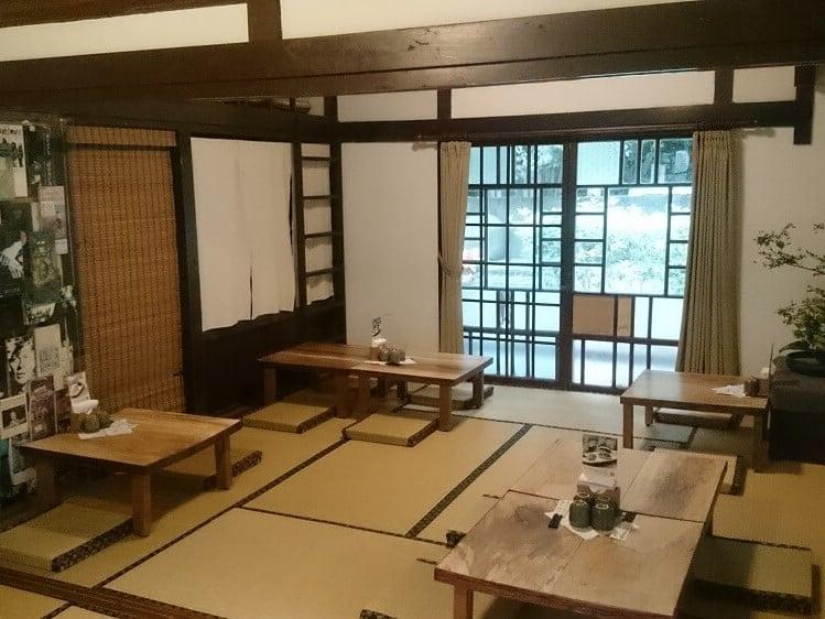 青田七六-餐飲空間-座敷與次間