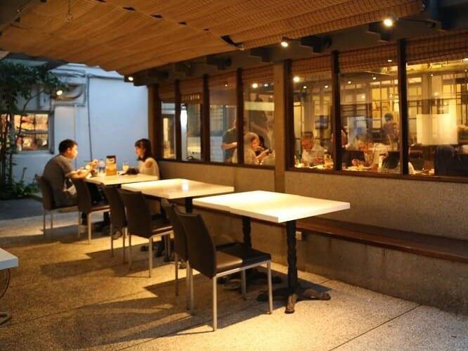 青田七六-餐飲空間-戶外區