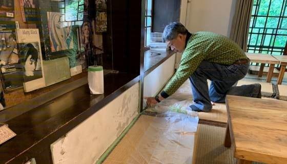 青田七六-維護紀錄-2020年04月-主建物室內牆壁修補
