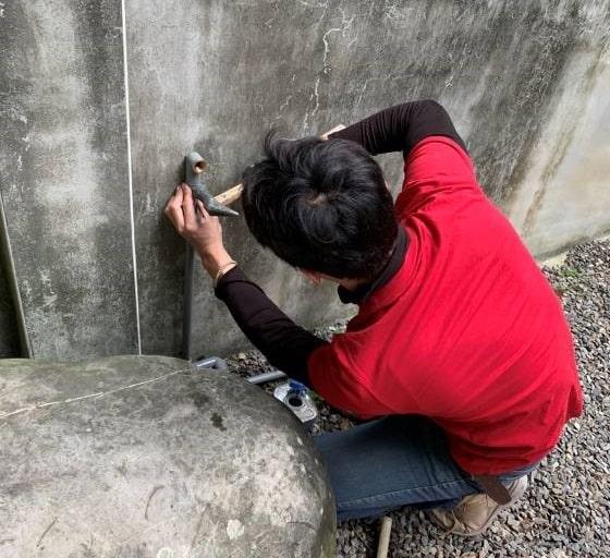 青田七六-維護紀錄-2020年3月02日-後院水管重接v1