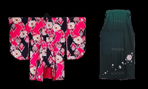 青田七六-七六聚樂部-和服體驗-袴樣式